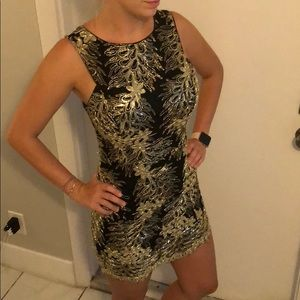 Black and gold dress! Must go! Only worn once!